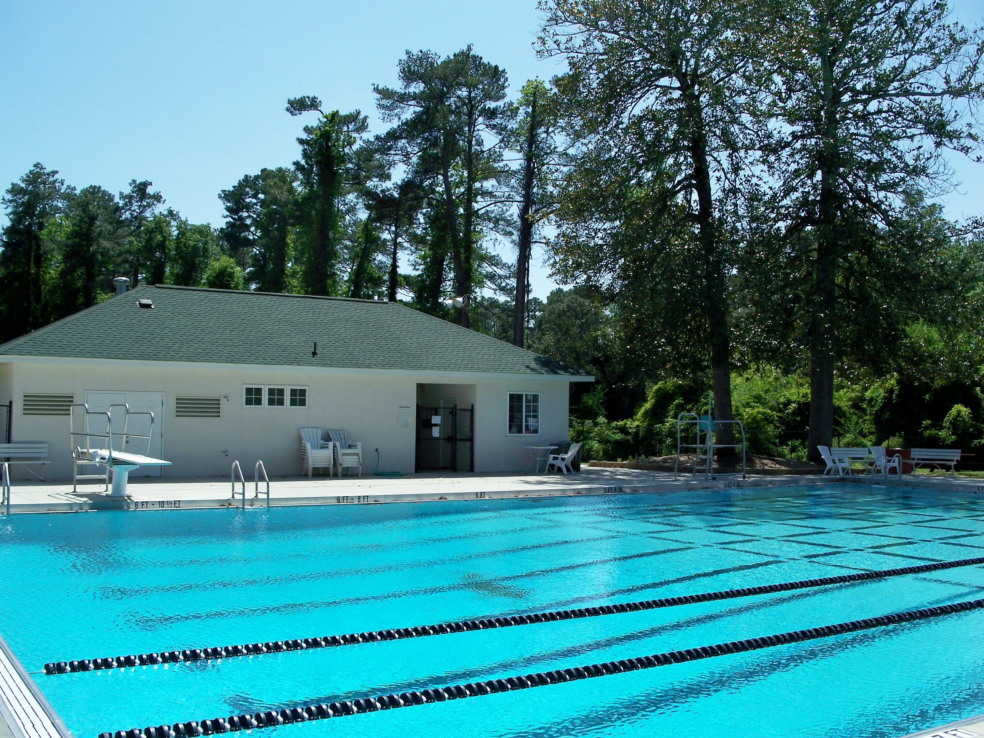 Fermata Pool and clubhouse.